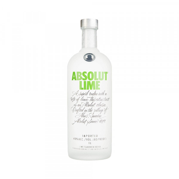 Absolut Lime Vodka mit Limette (1l)