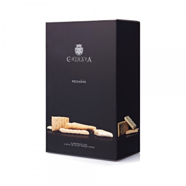 La Chinate Regañas con Aceite de Oliva Virgen Extra - Cracker mit nativem Olivenöl (125g)