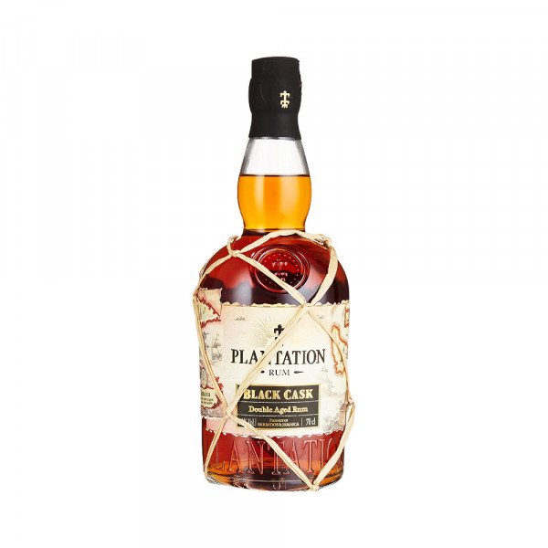 Plantation Black Cask Rum aus Barbados (0,7l)
