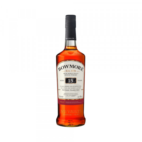 Bowmore Darkest 15 Years Islay Single Malt (0,7l)