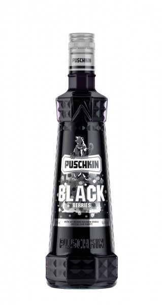 Puschkin Black Berries (0,7l)