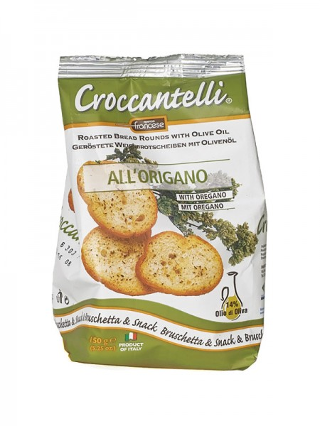 Croccantelli all' Origano - mit Oregano (150g)