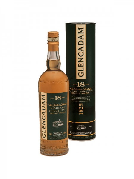 Glencadam Highland Single Malt Whisky 18 Years (0,7l)