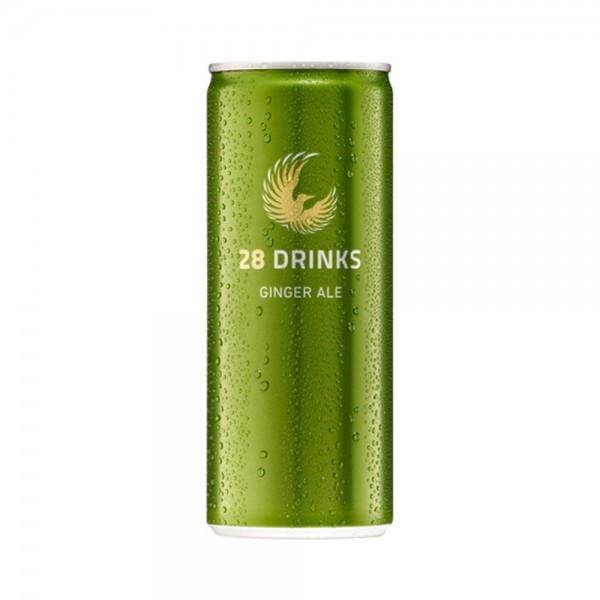 28 Drinks Ginger Ale Premium-Drink (0,25l)