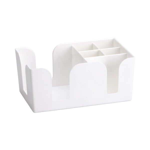 Bar Caddy (Kunstoff weiß 25 x 15 x 11cm)