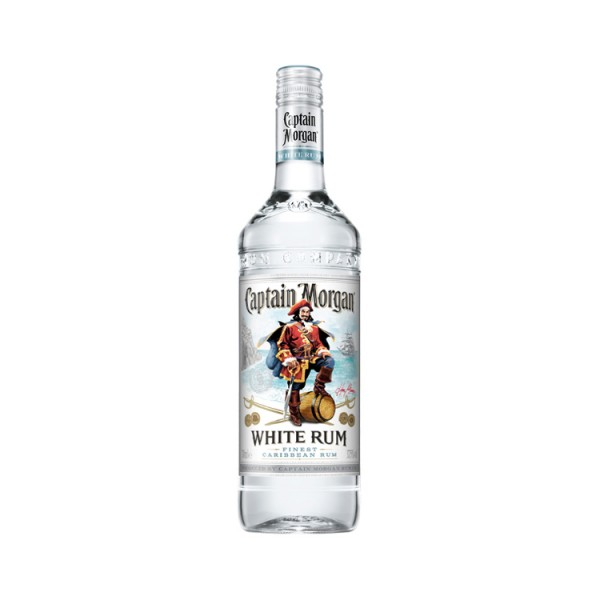 Captain Morgan White Rum (1,0l)