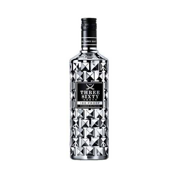 Three Sixty Vodka 100 Proof (0,7l)